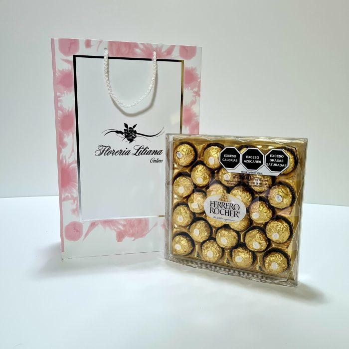 Caja de chocolates Ferrero grande de 24 Piezas