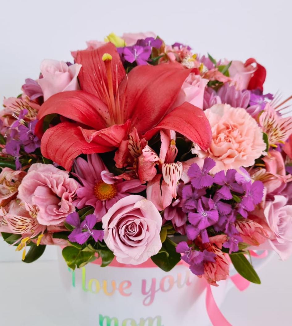 Taza de rosas rosas eres la mejor