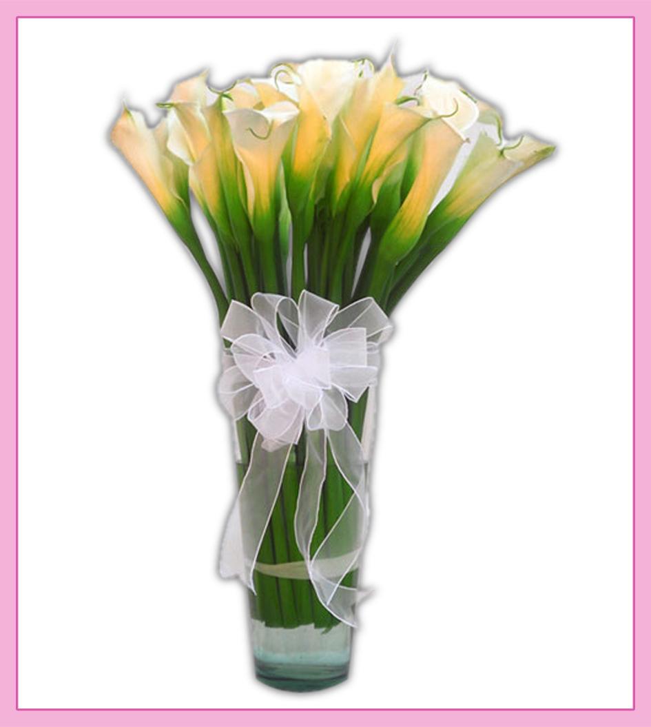 Arreglo Floral De Alcatraces