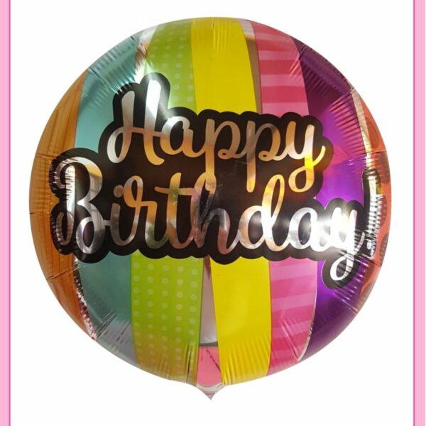 Globo de feliz cumpleaños de 14″