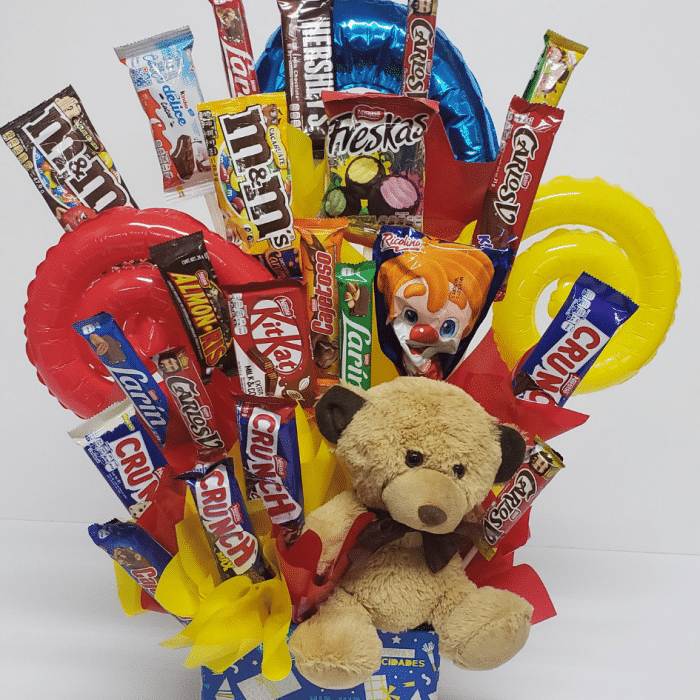 Canasta de dulces grande