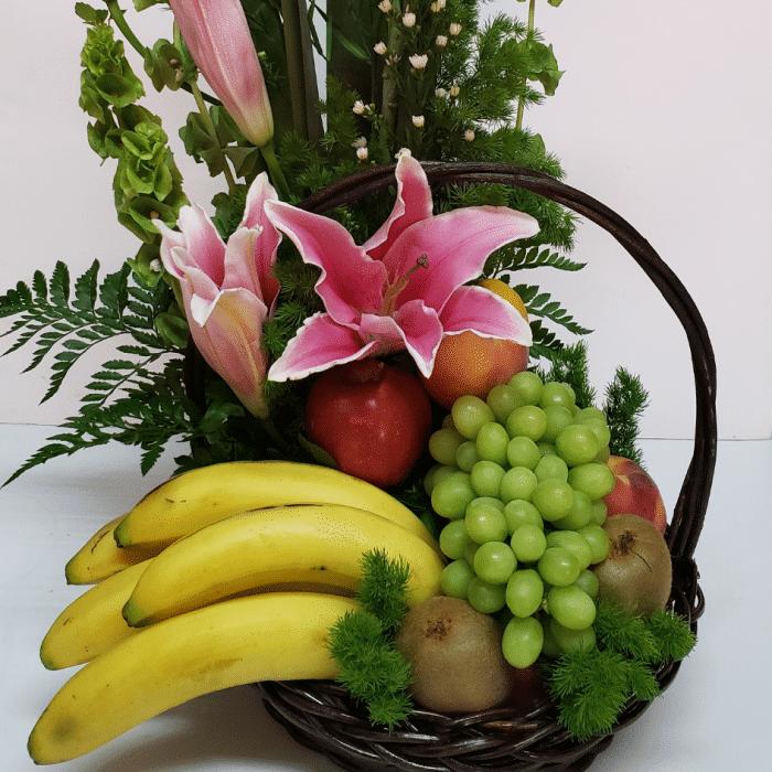 Arreglo frutal de acapulcos