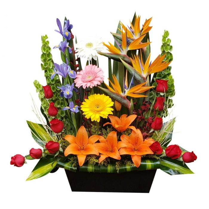Arreglo de flores naturales mixto