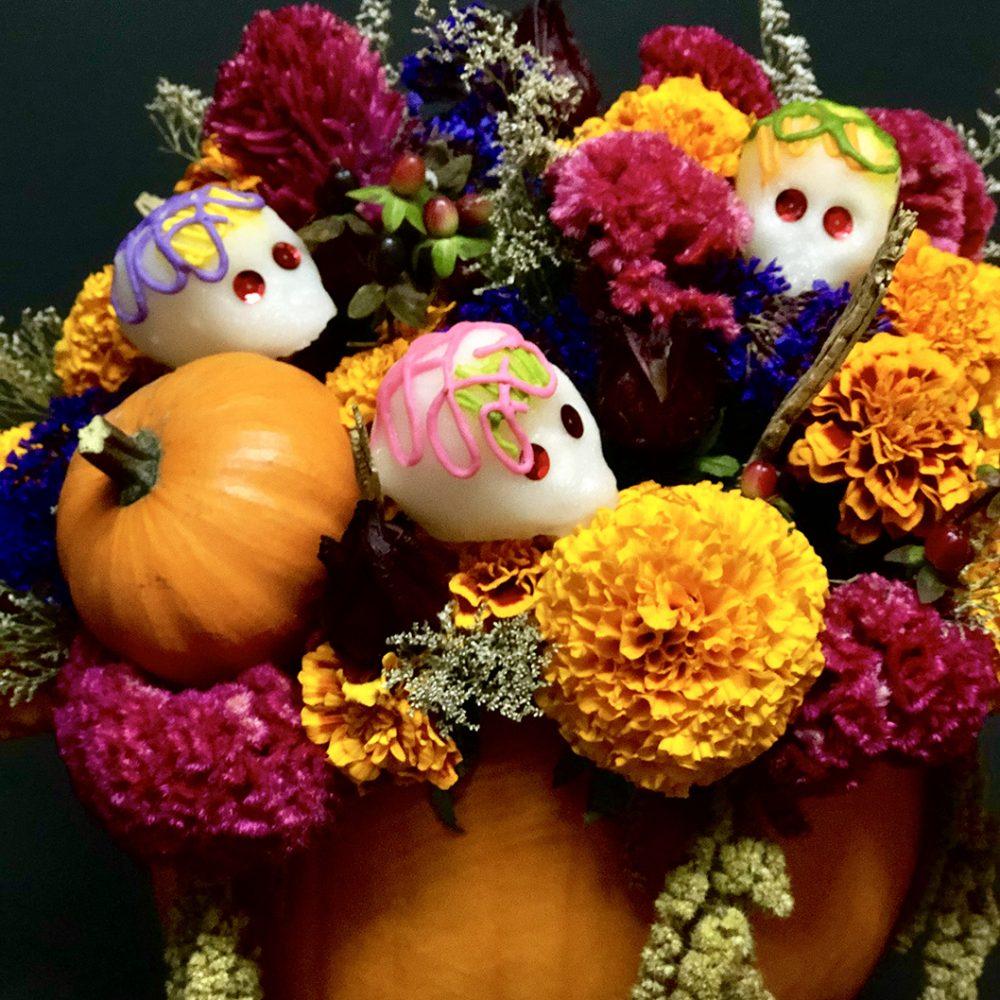 flores de día de muertos