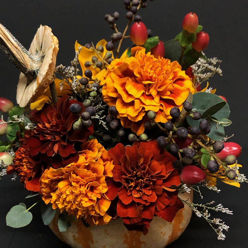 día de muertos flores