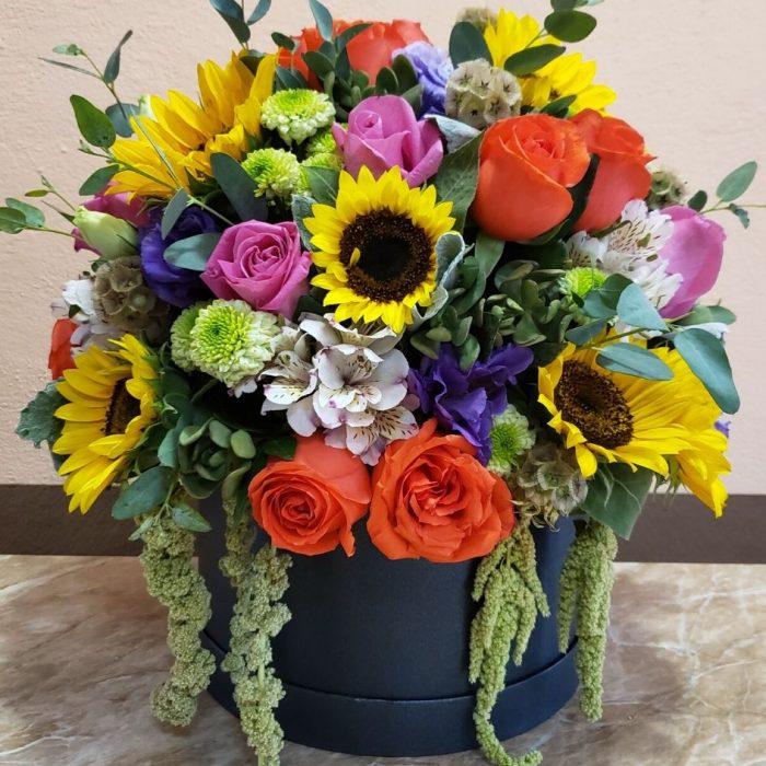Caja de Flores vareadas