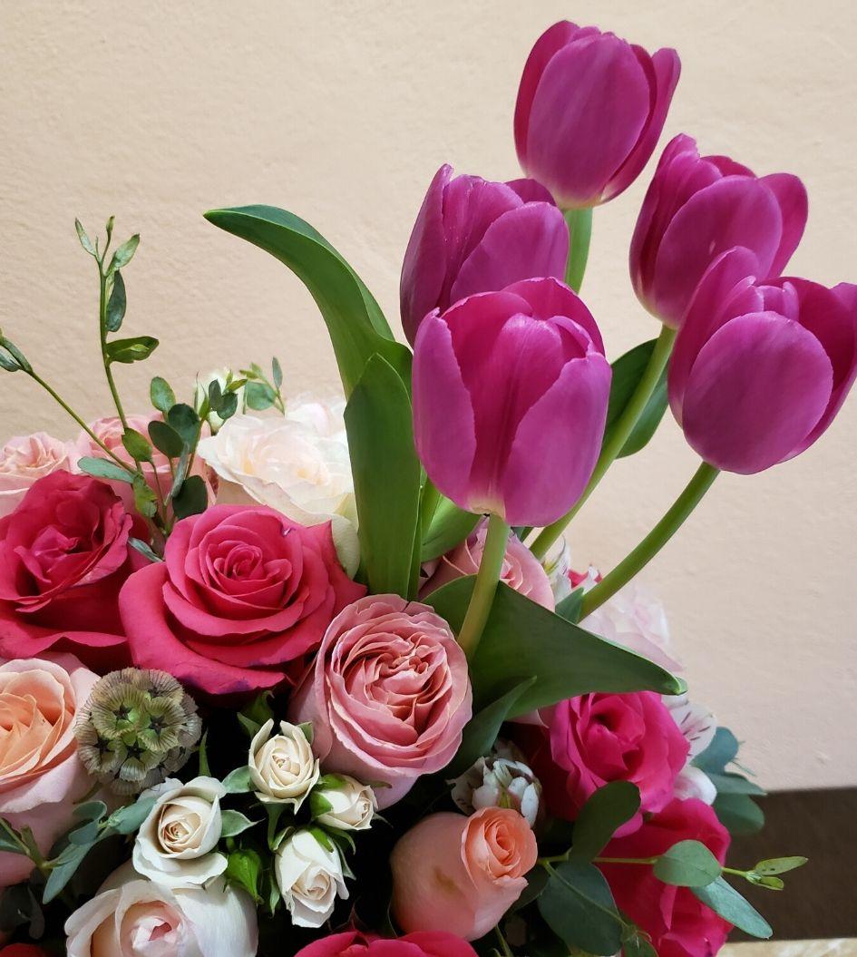 Caja de Flores para Mama