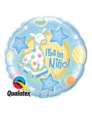 Globo es Niño con helio