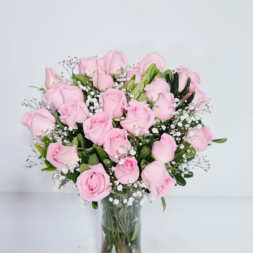 arreglo floral 24 rosas